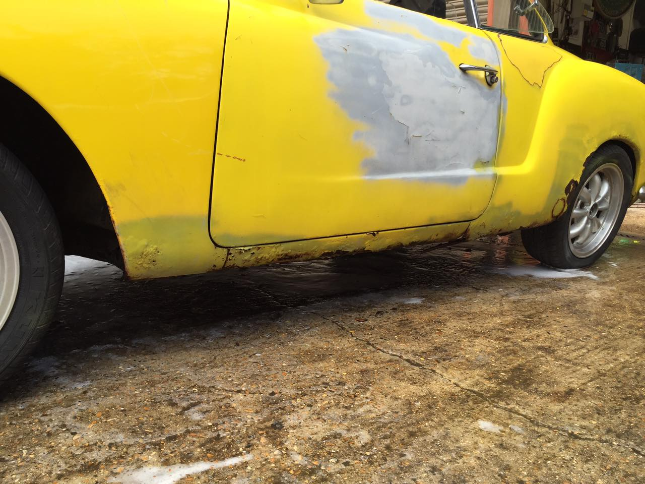 Before And After Karmann Khia Restorations (25)