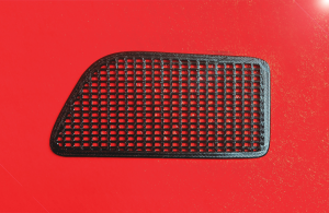 3D printed nostril grill