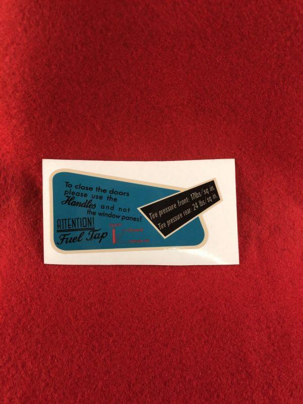 karmann-ghia-glovebox-sticker-uk-us-55-61