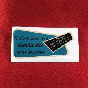 karmann-ghia-glovebox-sticker-uk-us-62-67